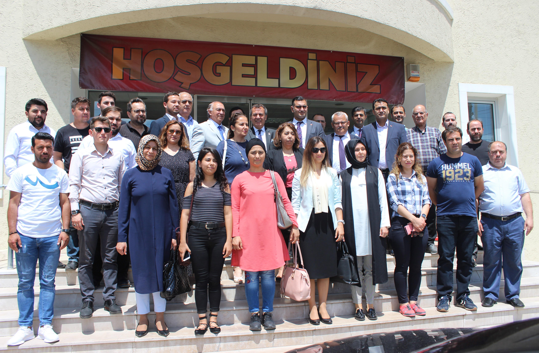 A.K Parti Muğla milletvekili adayları MİTSO'da…