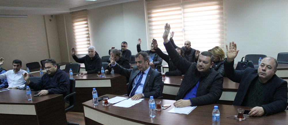 MİTSO'nun Şubat ayı olağan meclis toplantısı yapıldı. YÖNETİM KURULU OYBİRLİĞİ İLE İBRA EDİLDİ