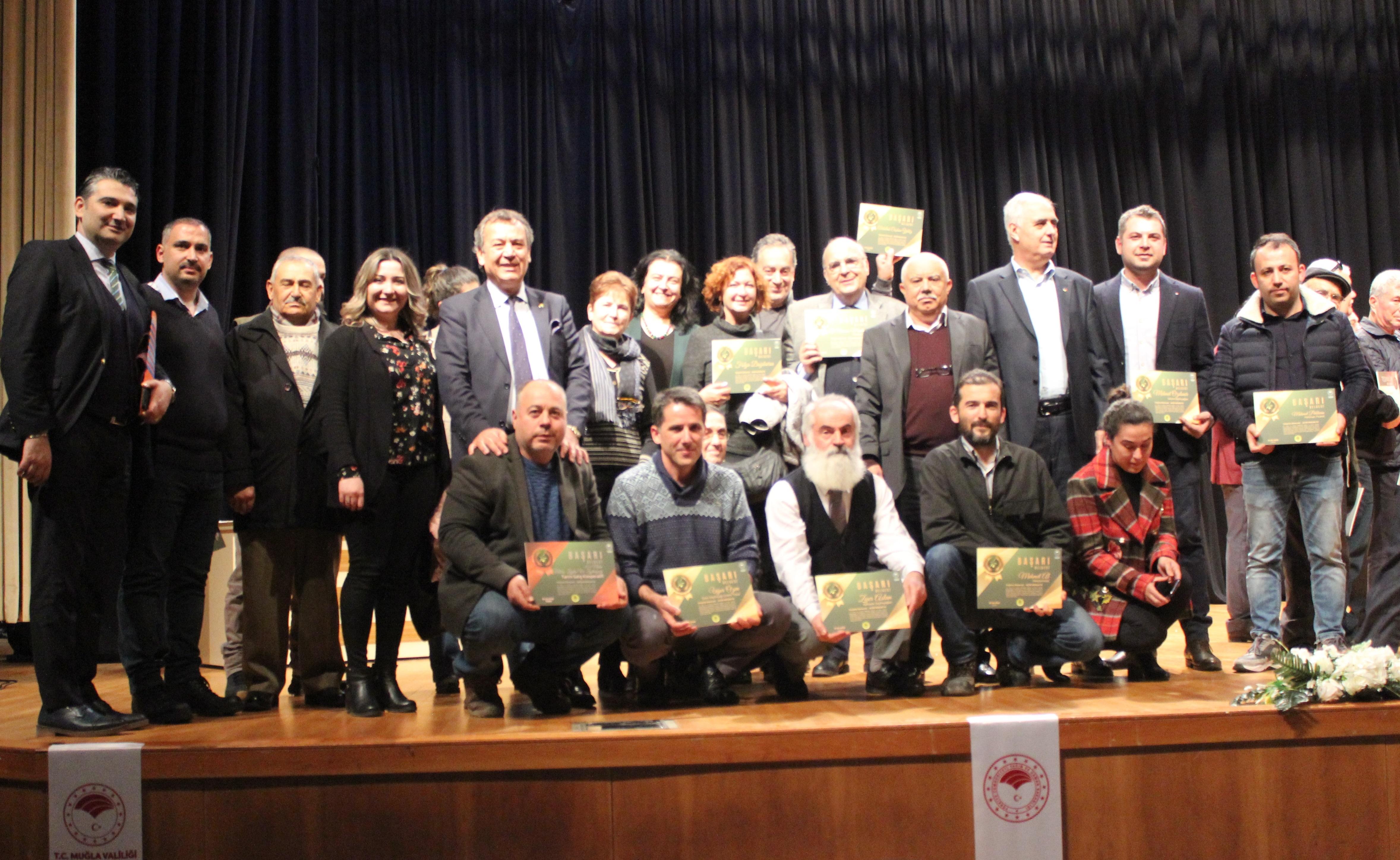 Milas zeytinyağları Muğla'da 14 altın, 4 gümüş ve 3 bronz madalya kazandı MİTSO : GURURLUYUZ.