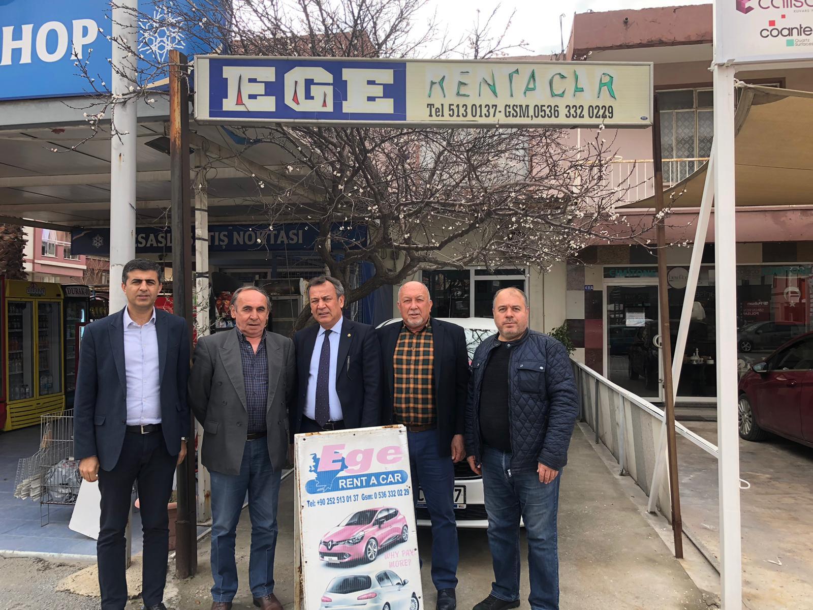 MİTSO'DAN EGE RENT'E VE ADA TEMİZLİK'E HAYIRLI İŞLER
