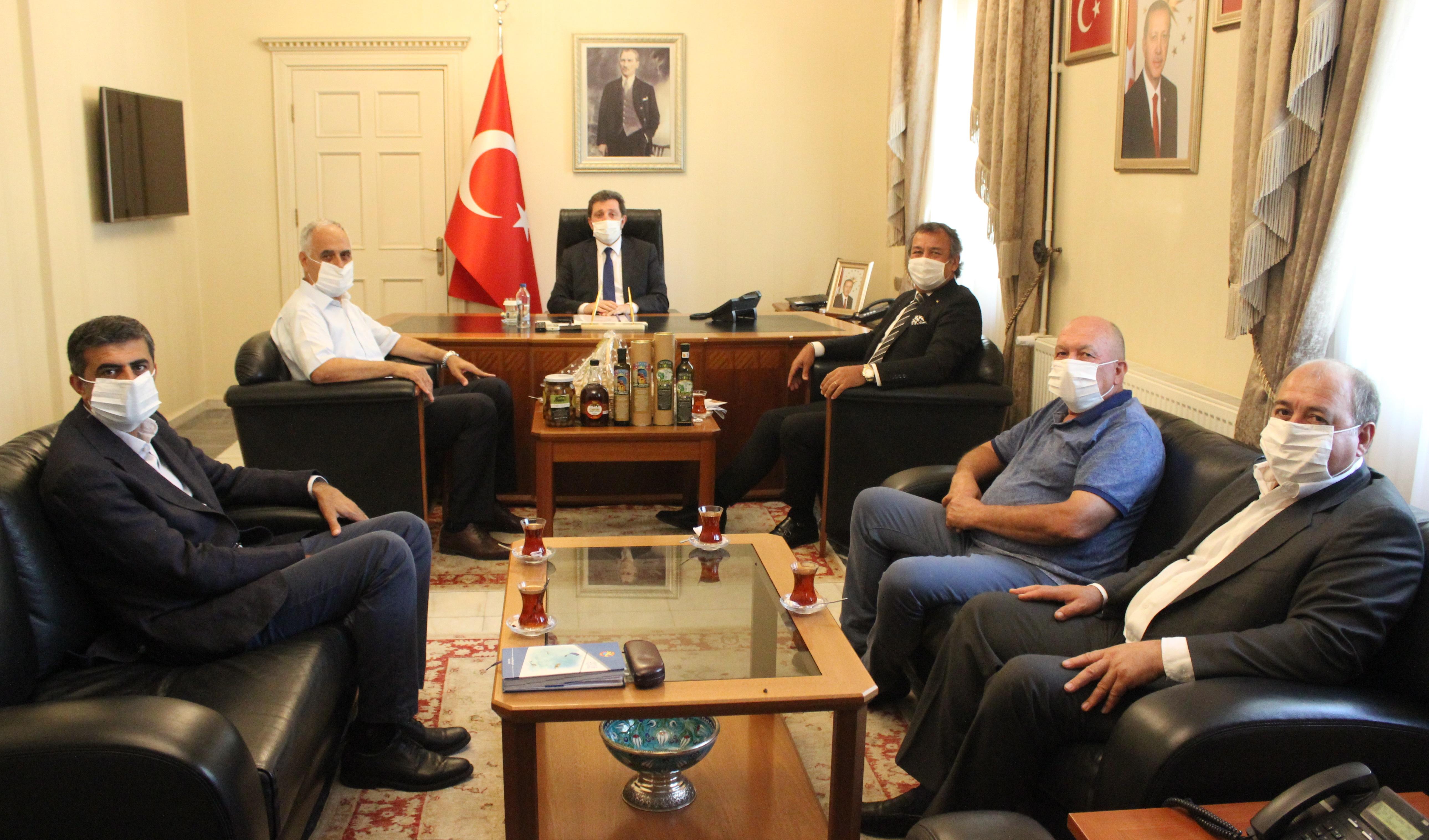 """MİTSO, yeni Muğla Valisi Orhan Tavlı'ya hoşgeldiniz dedi ve kutladı.  """"İLÇELER MUĞLA OLARAK BÜTÜNLEŞMELİ"""