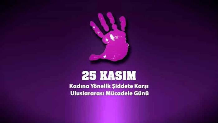 """SEN DE KADINA ŞİDDETE """"HAYIR!"""" DE… 25 KasımKadına Yönelik Şiddete Karşı Uluslararası Mücadele Günü"""