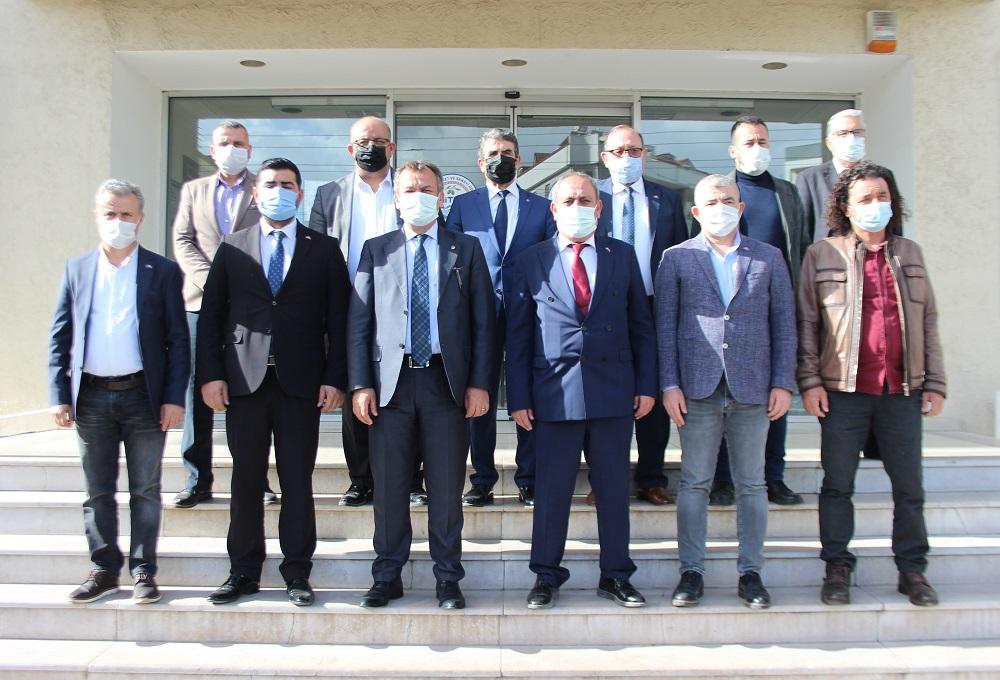 "MHP, MİTSO'DA… ""MİLAS'A DOĞALGAZ GETİRİLMESİNİ İSTİYORUZ"""