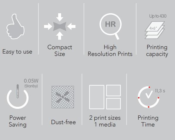 Imprimantă foto profesională Mitsubishi CP-D80DW
