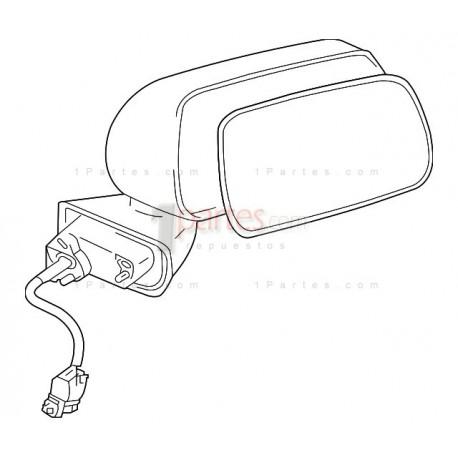 Espejo retrovisor derecho (copiloto)|Mitsubishi|Endeavor