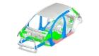 Mitsubishi Mirage Reinforced Impact Safety Evolution