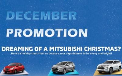 Mitsubishi December 2020 Promotion