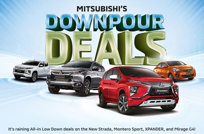 Mitsubishi August 2021 Promotion