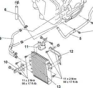 [2012 Mitsubishi Outlander Manual Transmission Schematic