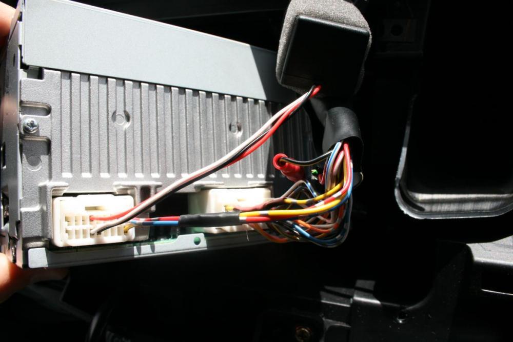 medium resolution of aux input installation 2010 outlander 001 jpg