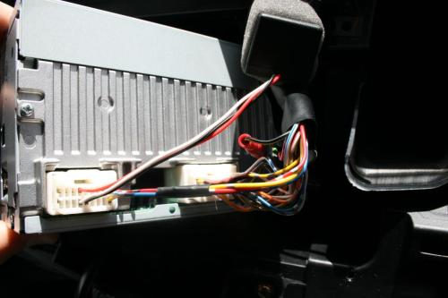 small resolution of aux input installation 2010 outlander 001 jpg