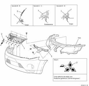 [Diagram Of Removing A Grill From A 2009 Mitsubishi Tundra