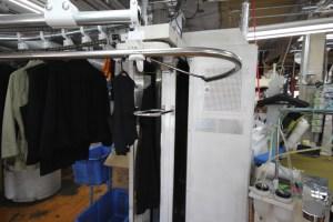 機械仕上|クリーニングミツボシの仕上げ