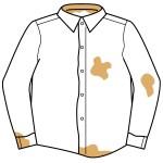 ワイシャツの黄ばみ黒ずみ