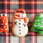 アイシングクッキーのクリスマスのデザイン!簡単で型なしでもOK