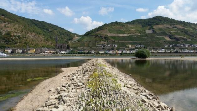 Lorch ist Rheingau und Mittelrhein zugleich. Der Stadtteil Lorchhausen (Foto 2015) grenzt schon an das rheinland-pfälzische Kaub.