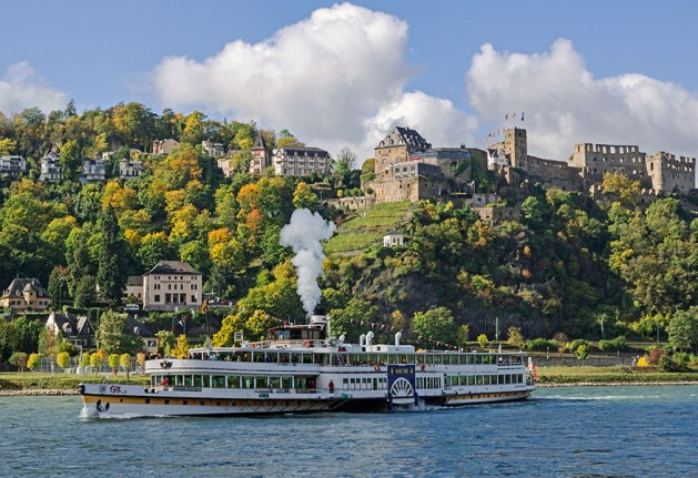 Rheinfels gehört zu den Top-Adressen am Mittelrhein. Foto: Hotel Schloss Rheinfels.
