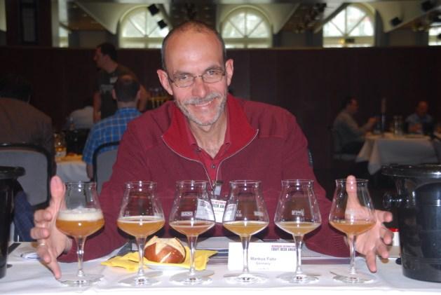 Markus Fohr als Juror beim International Craft Beer Award 2016.