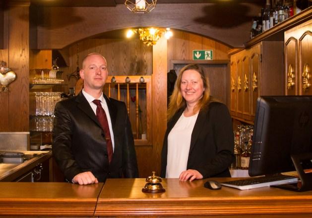 Uwe Girnstein und Diana Hein sind seit 2016 in Kamp-Bornhofen. Foto: Hotel Rheingraf.