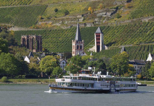 """Auf der """"Goethe"""" fährt jetzt auch eine Kamera mit. Foto: Romantischer Rhein-Tourismus / Friedrich Gier"""