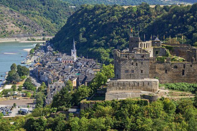 Burg Rheinfels gehört der Stadt St. Goar. Foto: Romantischer Rhein Tourismus / Friedrich Gier
