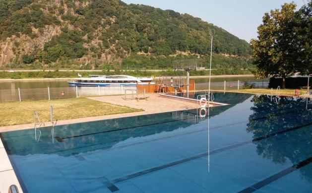 """Das """"Welterbebad"""" in Kamp-Bornhofen. Foto: VEF 88"""