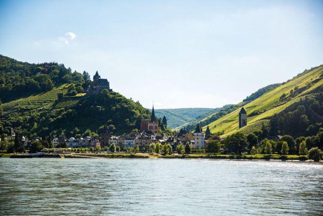 Bacharach am Rhein. Foto: Romantischer Rhein Tourismus / Henry Tornow