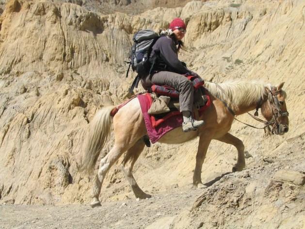 Bach hat den Himalaya zu Fuß und zu Pferd erkundet. Foto: Haus Adams.