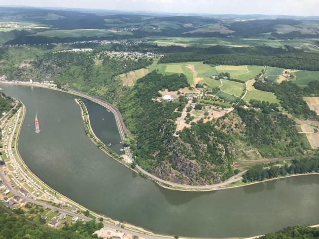 Neugestaltung des Loreley-Plateaus 2018. Foto: Ministerium des Inneren RLP.