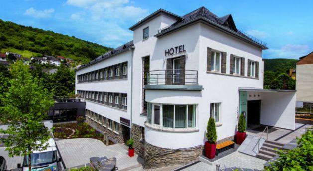 Die alte Lorcher Schule wurde 1933 eröffnet und ist seit 2013 Hotel. Foto: Hotel im Schulhaus