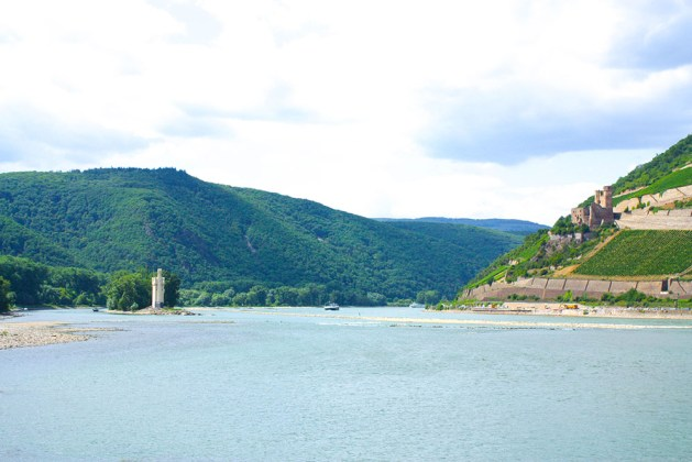 Bingen-Blick am Rheinufer- Foto: Stadt Bingen.