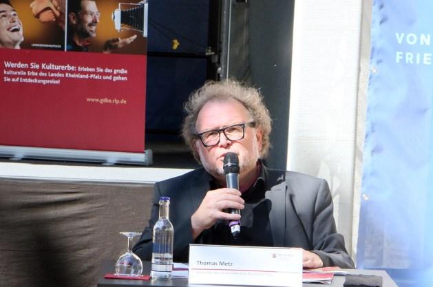 Thomas Metz stand über 13 Jahre an der Spitze der GDKE. Foto: Bonewitz