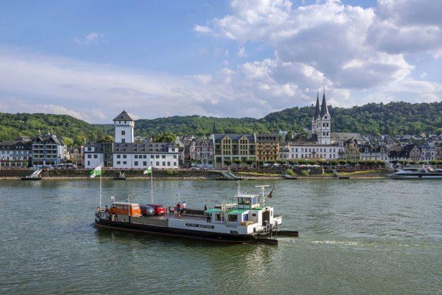 Blick auf Boppard. Foto: Friedrich Gier / Romantischer Rhein Tourismus