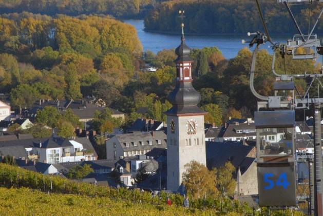 Blick auf Rüdesheim. Foto: Rolf Wölfert