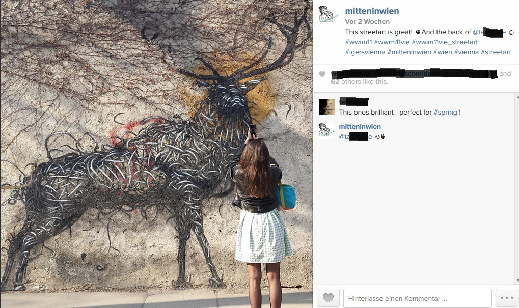 Beliebtestes Instagram-Bild von mitten-in-wien.at