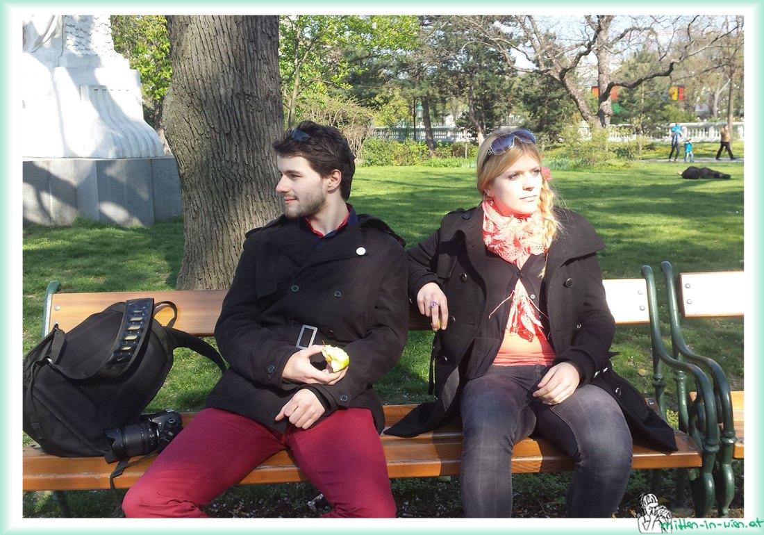 Pärchen im Stadtpark