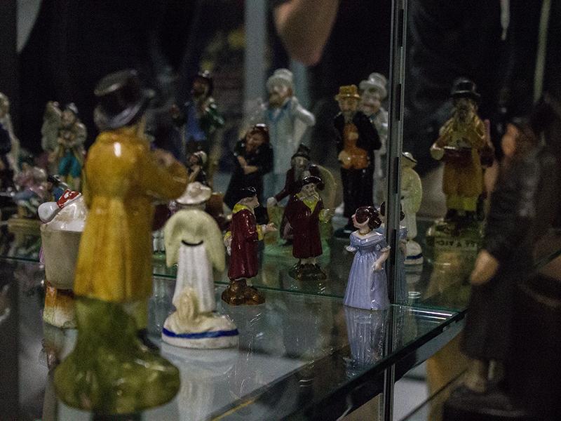 Antisemitische Figuren im jüdischen Museum