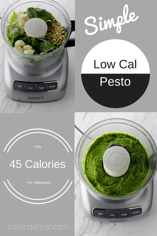 SImple low cal pesto