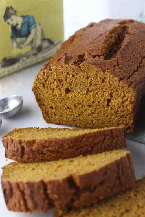 one bowl healthier pumpkin bread