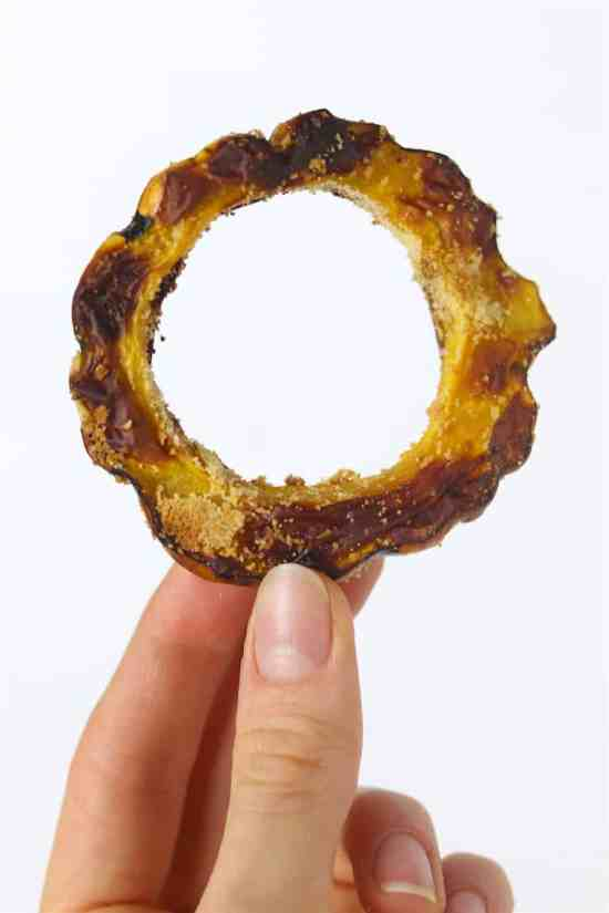 air fried delicata rings