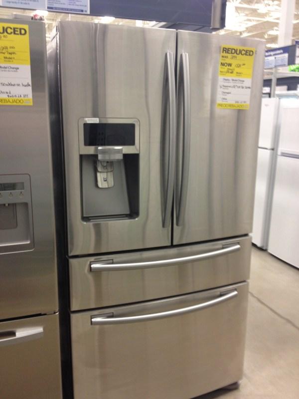 French Door Refrigerator Mitten House