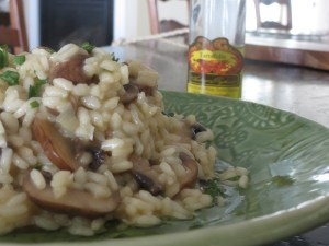 Mushroom Risotto with White Truffle Oil Header