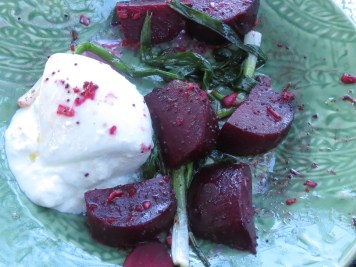 Grilled Beets with Burrata and Poppy Seed Vinaigrette 2