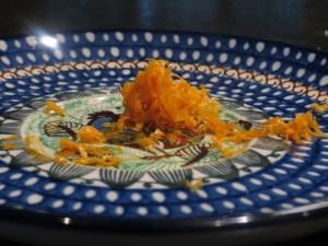 Grated Orange Zest