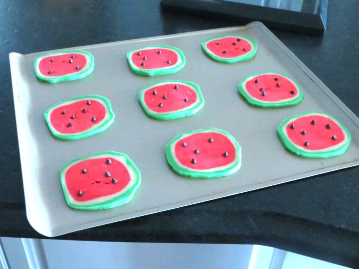 Ready to Bake Watermelon Cookies