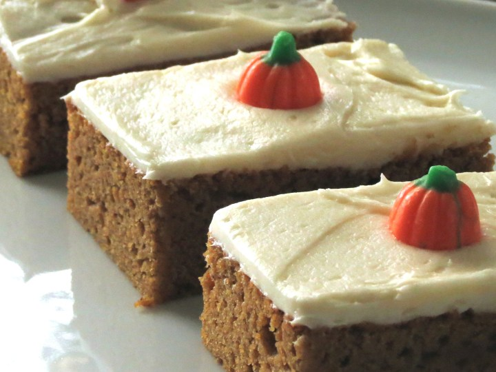 Killer Pumpkin Bars