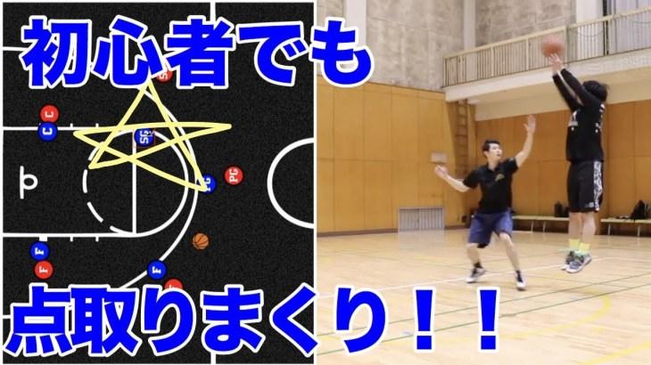 バスケ初心者でも簡単に点が取れる裏技カット!
