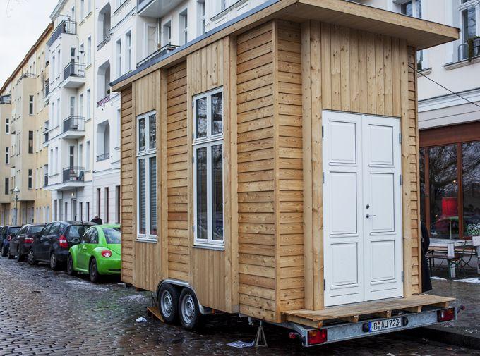 Das kleinste Haus Berlins  Im Tiny100 knnt ihr schon