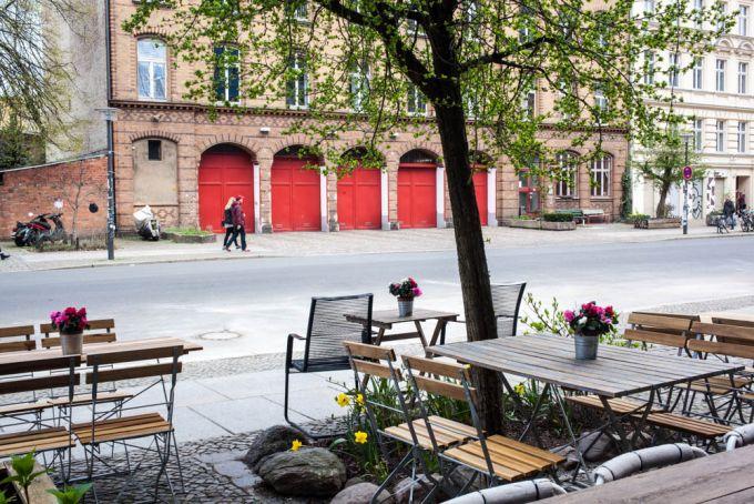Porridge und Rhrei im Caf Krone in Prenzlauer Berg  Mit Vergngen Berlin