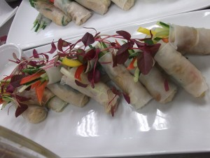 Vegetarian spring rolls are an example of tasty and creative kosher thinking
